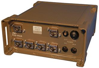 AVI Cisco 3230 Ruggedised Military Mobile Access Router
